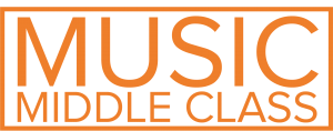 MUSIC MIDDLE CLASS LOGO - OR